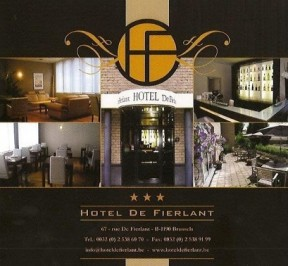 Hotel De Fierlant - Forest / Vorst