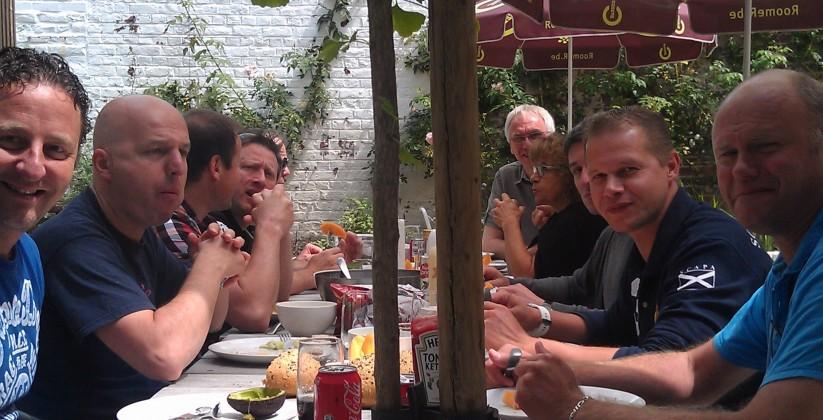 lunch buiten