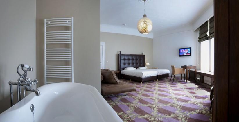 Interieur Hotelkamer